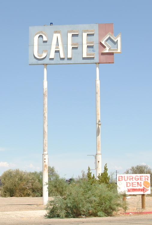 Picture of a vintage sign