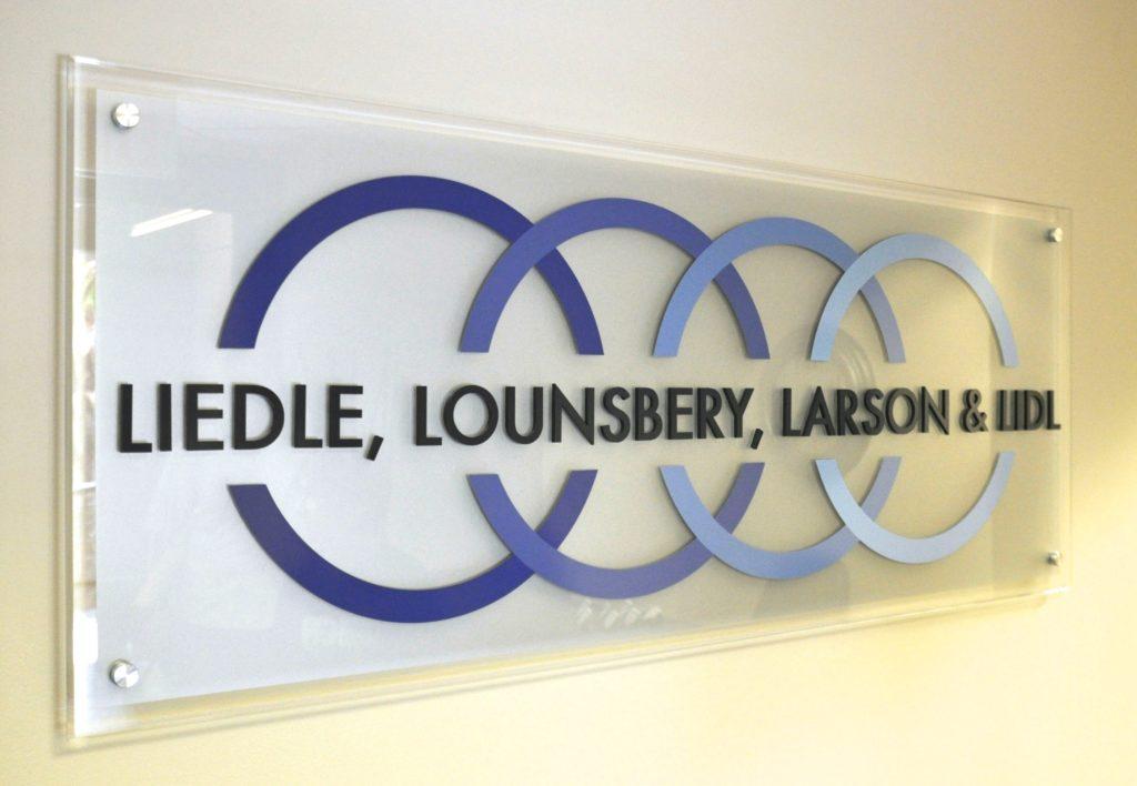 lobby signage, custom lobby sign